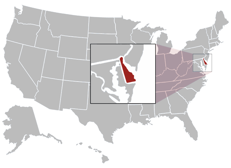 Civilservicesusstates - Large map of us states