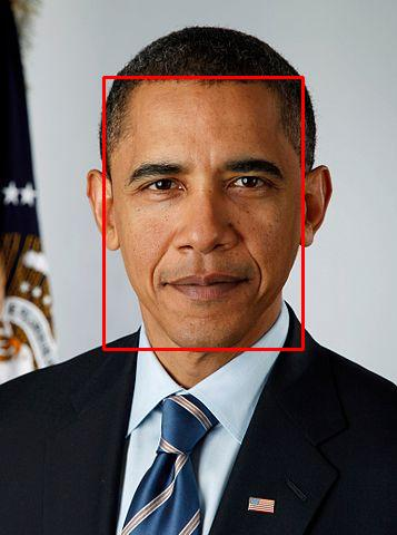 Obama boxed face.