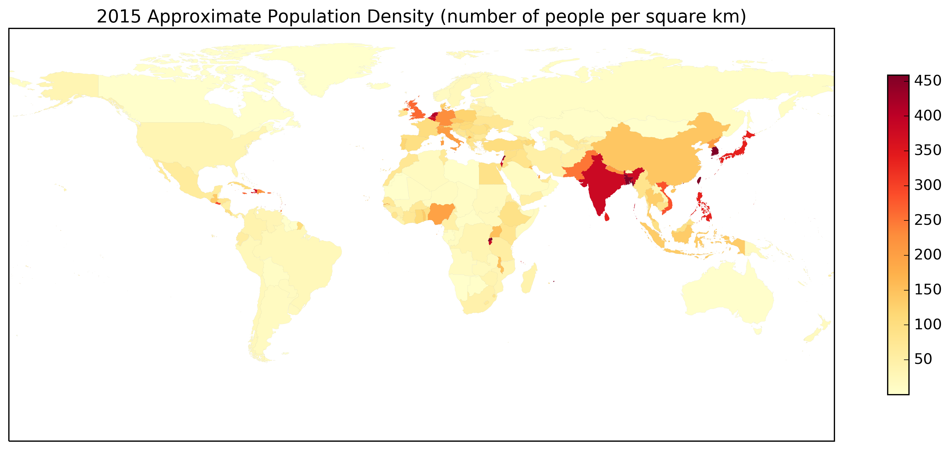 YlOrRd Population Density