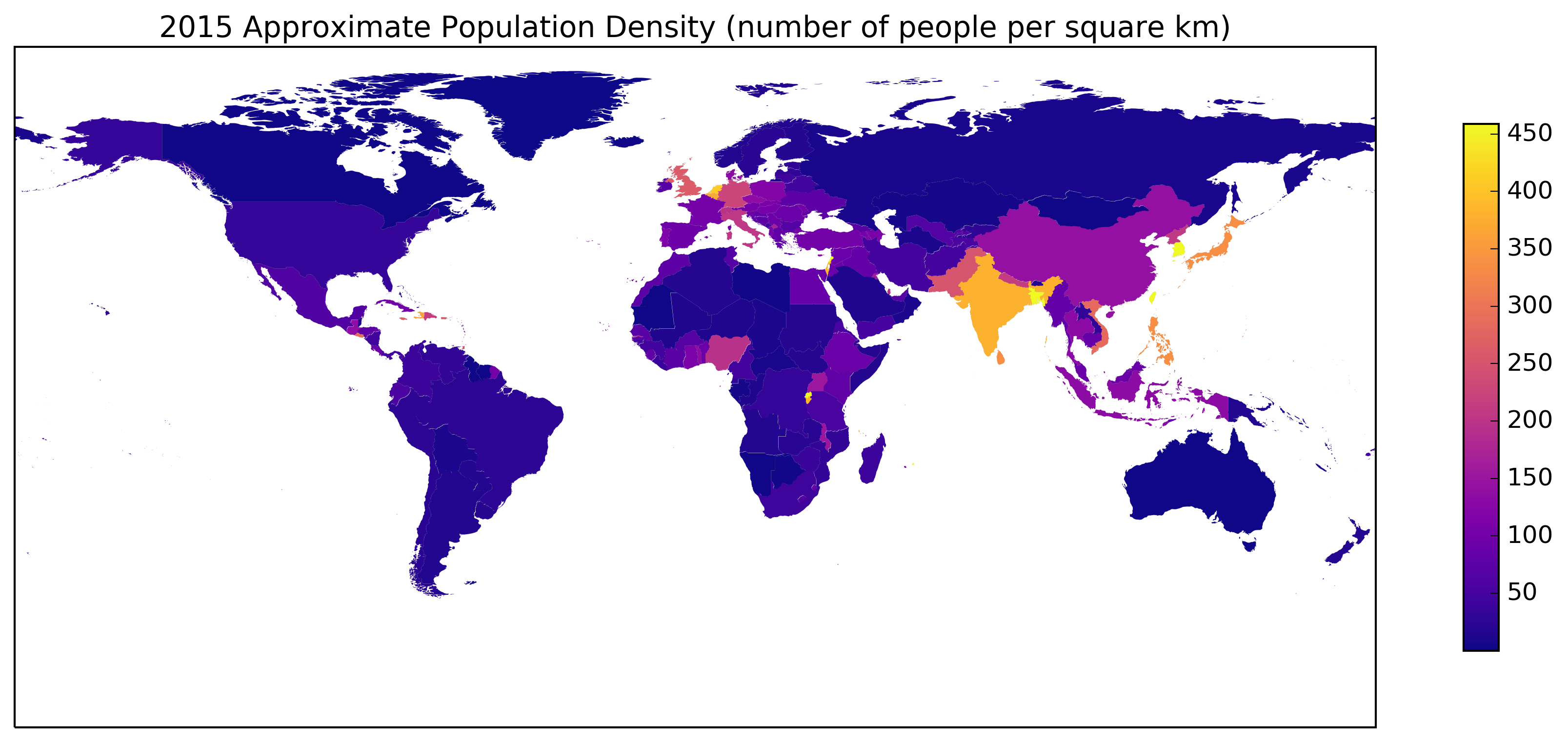 plasma Population Density