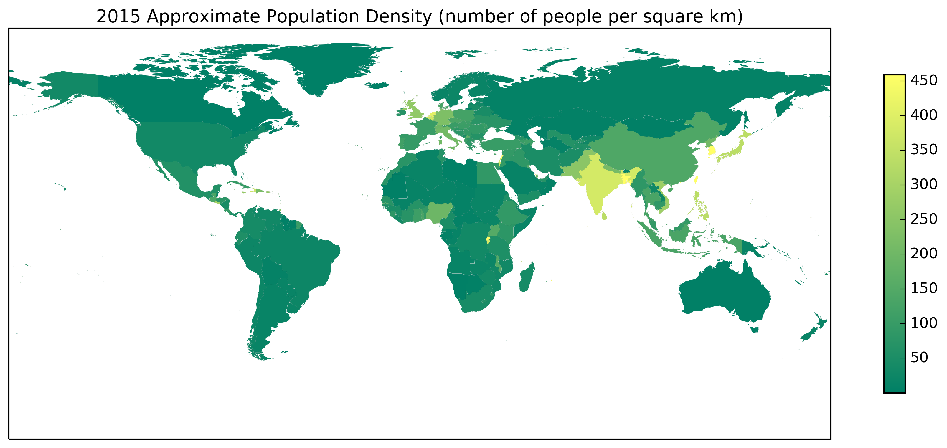 summer Population Density
