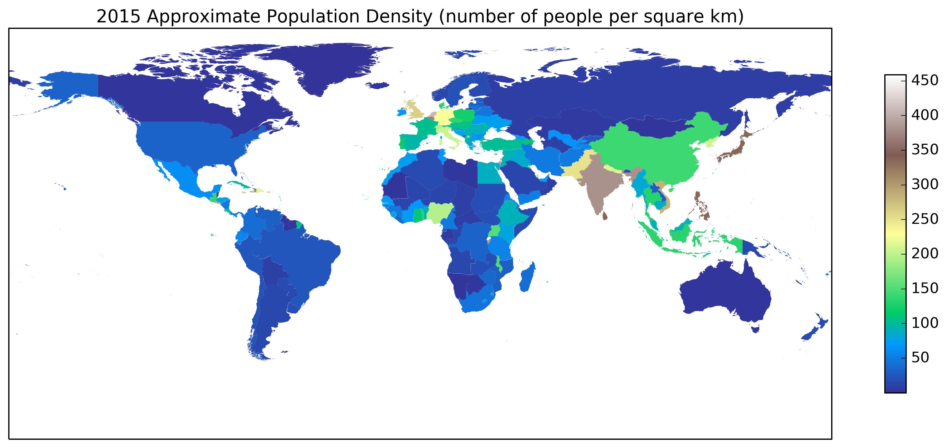 terrain Population Density