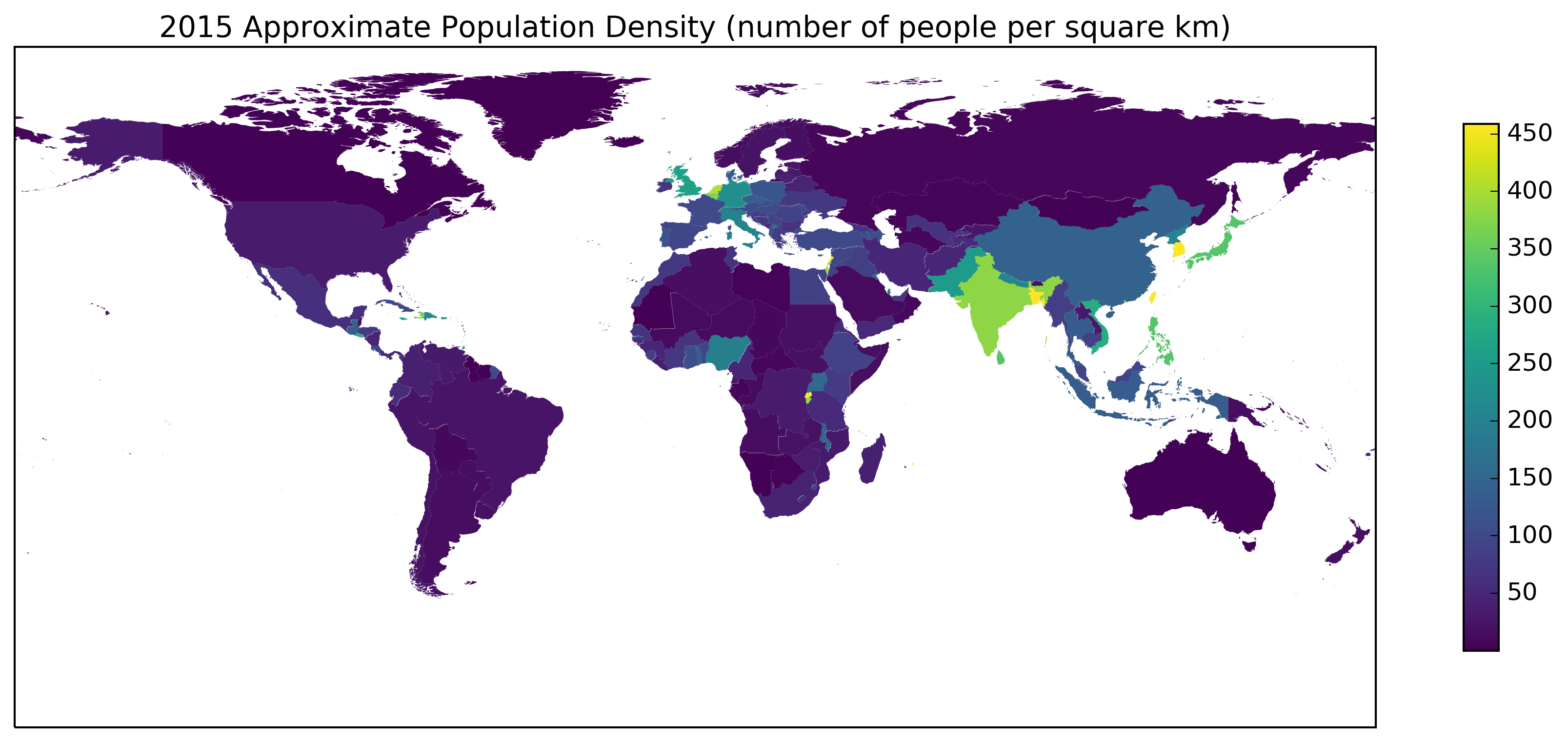 viridis Population Density