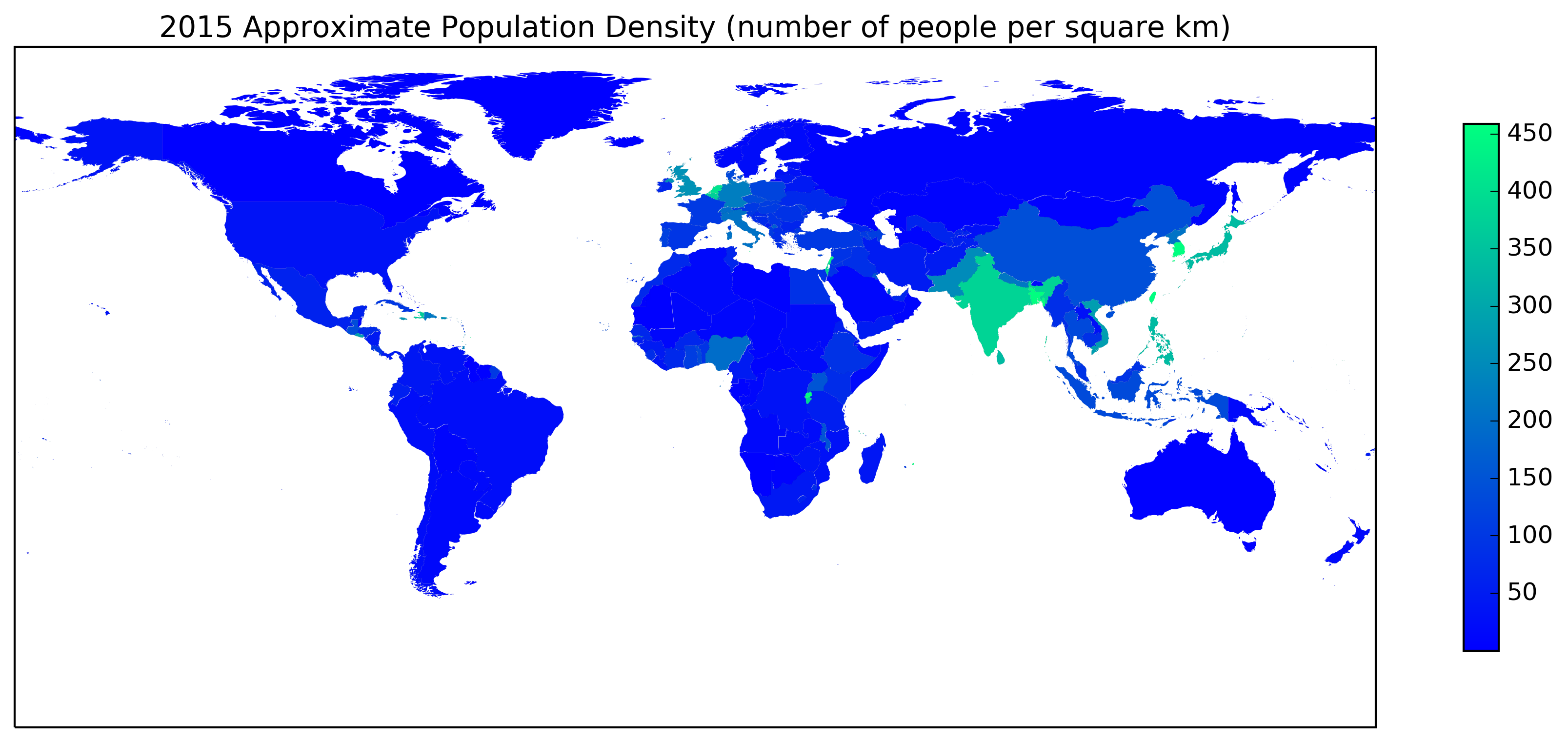 winter Population Density