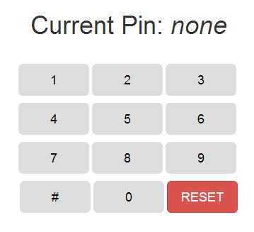 django-pin-passcode screen