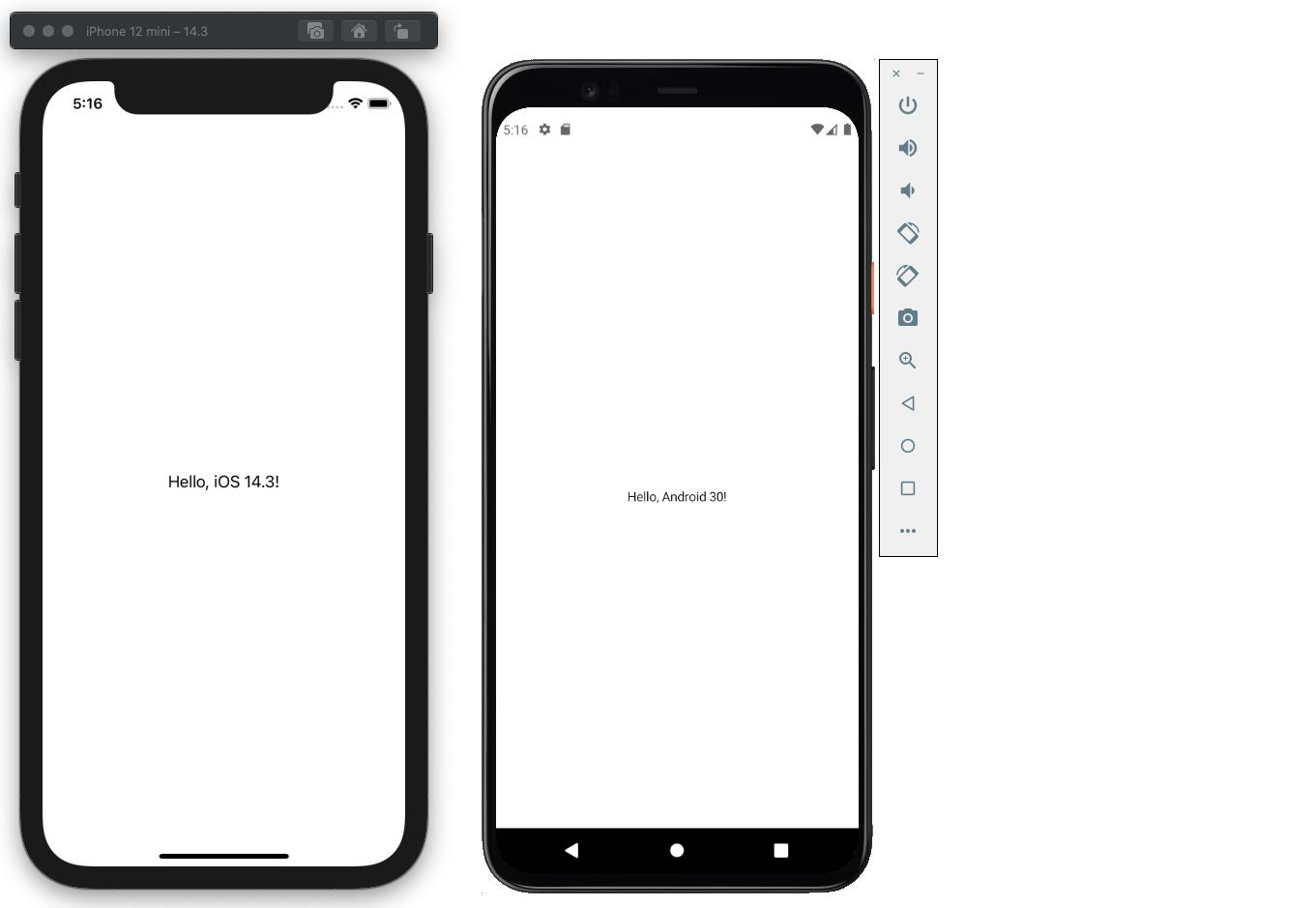 Hello Platform Screenshot