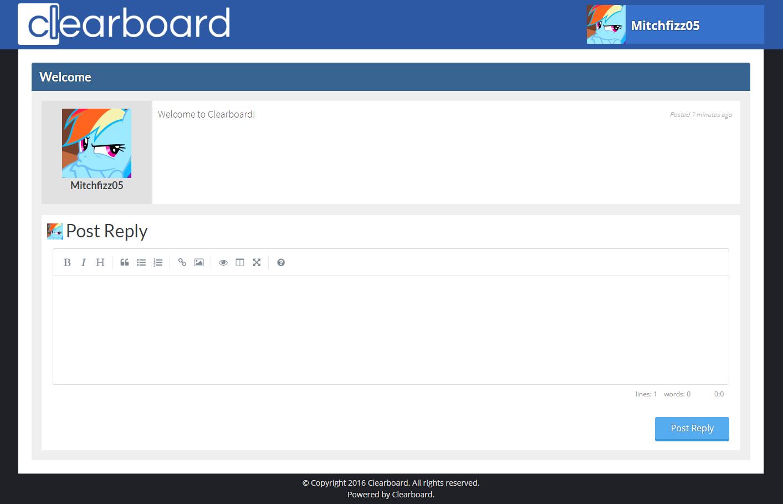 Clearboard Screenshot