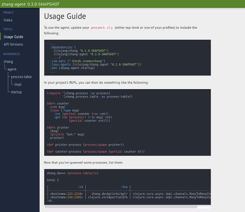 Clojars Theme with Code