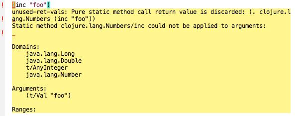 type error