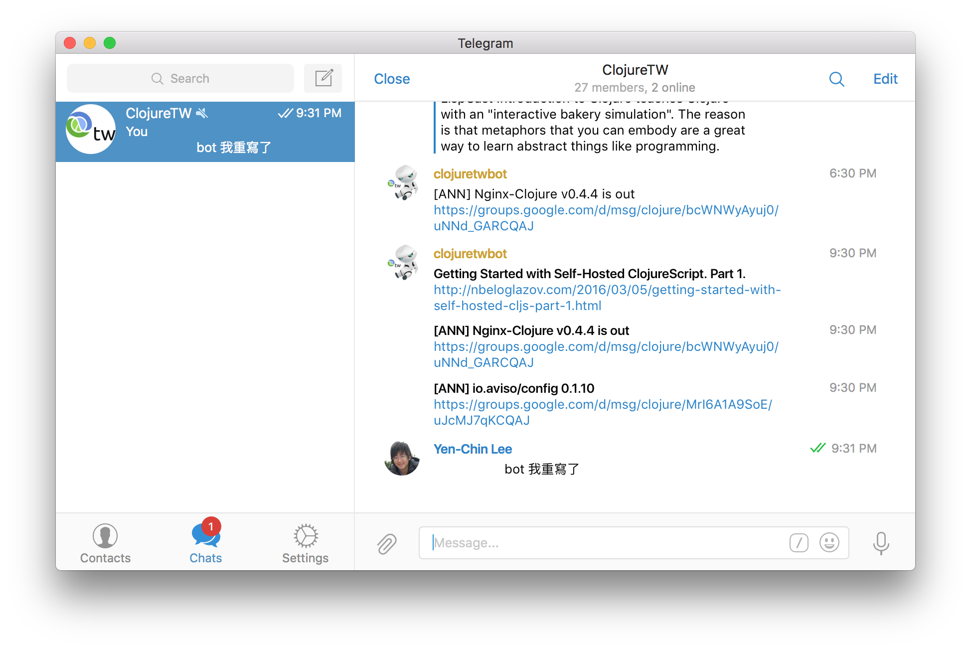 Rating: how to launch telegram bot for your channel