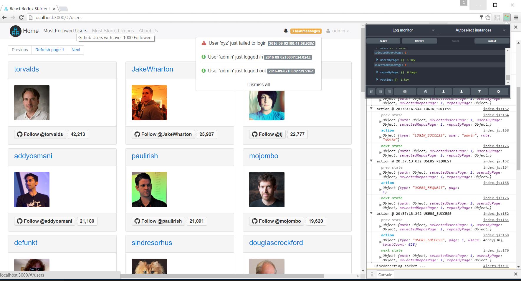 GitHub - cloudmu/react-redux-starter-kit: Enjoy React, Redux