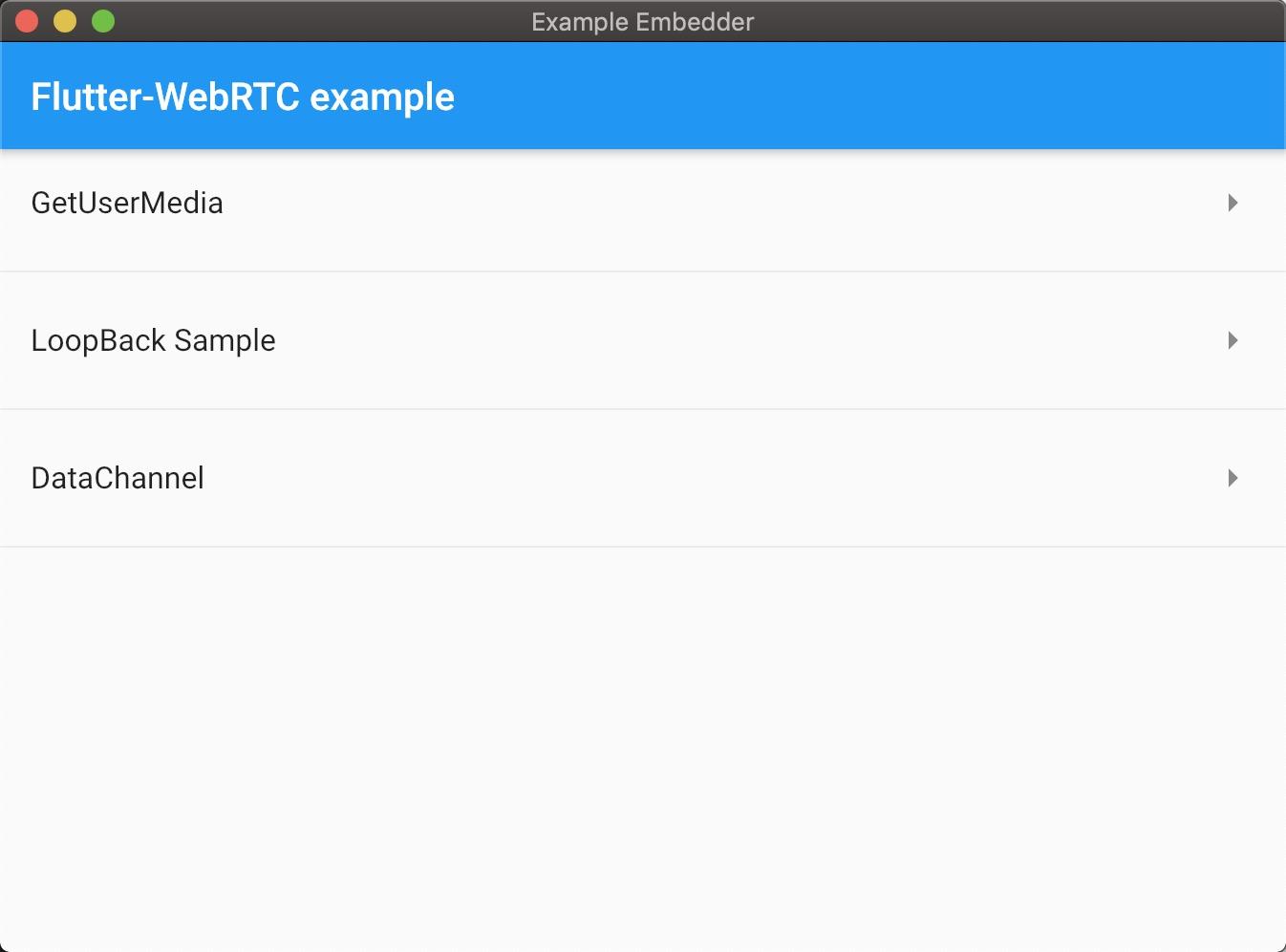 WIP]Support for Flutter Desktop · Issue #37 · cloudwebrtc