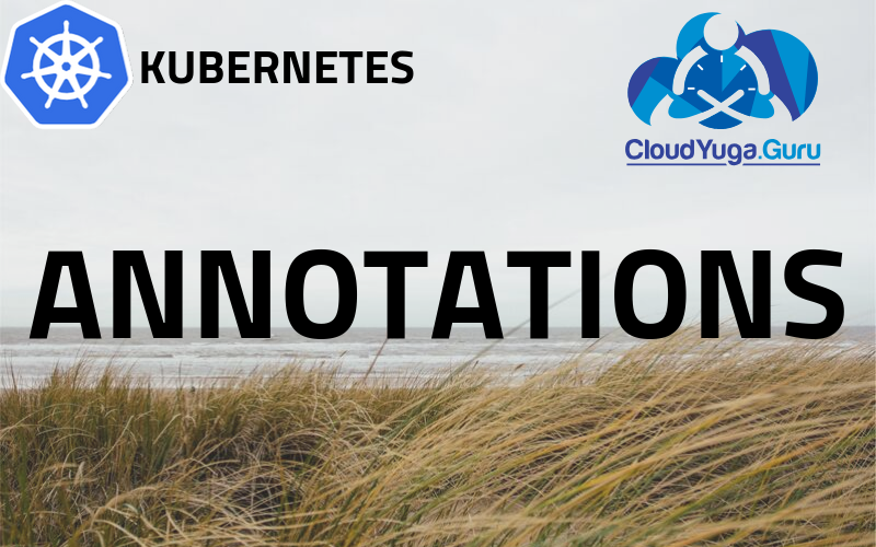 Annotations in Kubernetes