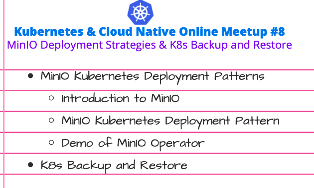 Kubernetes & Cloud Native Online Meetup # 8