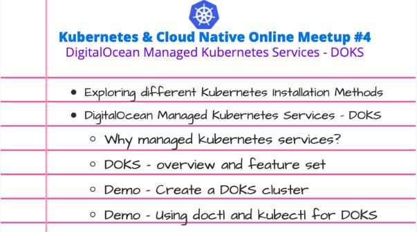 Kubernetes & Cloud Native Online Meetup # 4