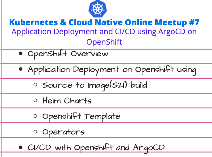 Kubernetes & Cloud Native Online Meetup # 7