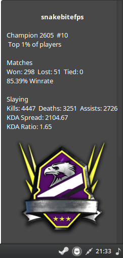 Halo Stats Screenshot