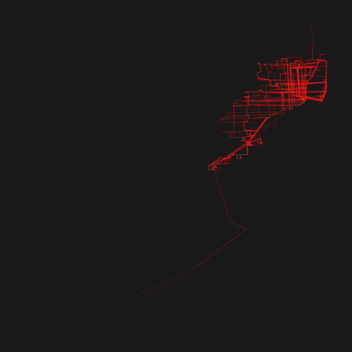 Miami GTFS Heatmap
