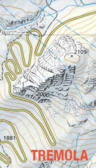 modern map of Tremola