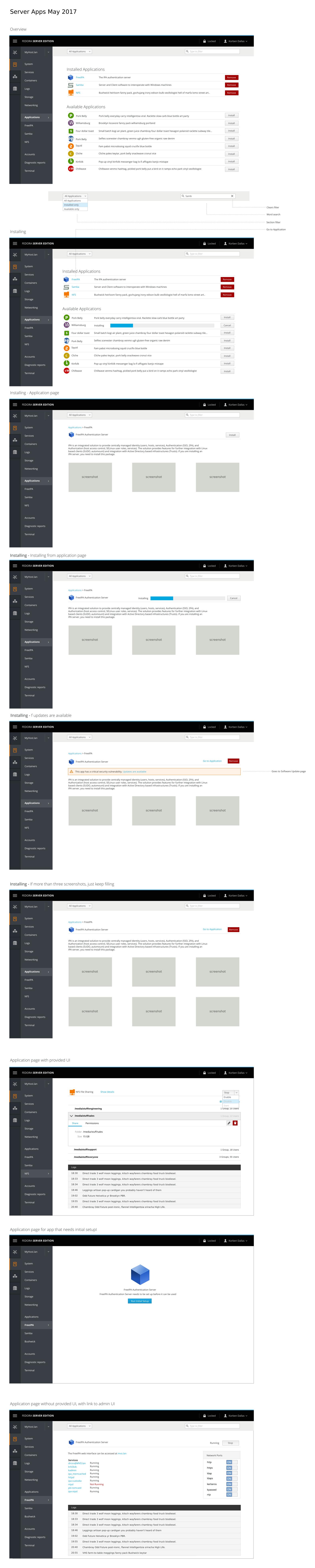 Server Applications · cockpit-project/cockpit Wiki · GitHub