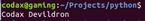 update key value python