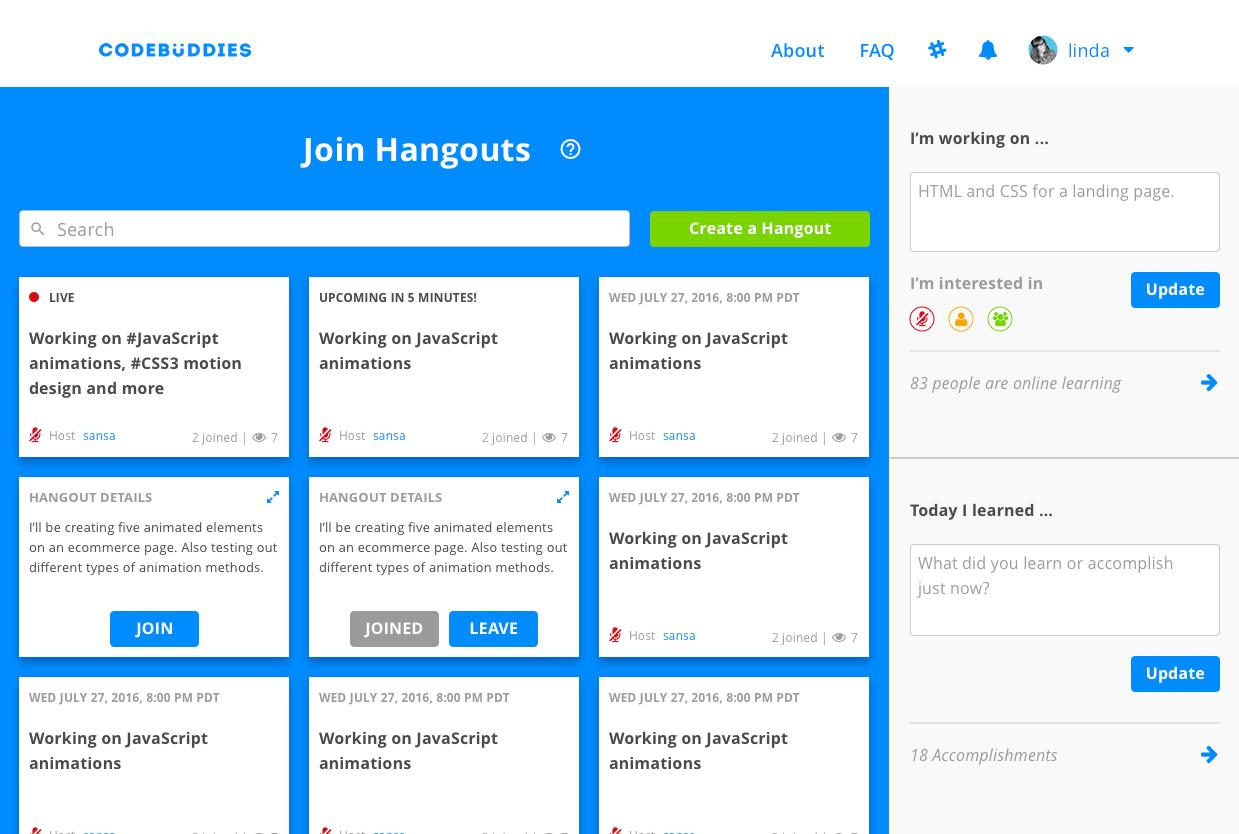 Jitsi Hangouts