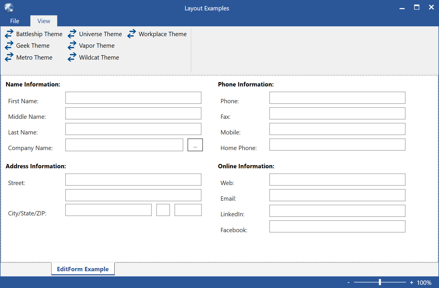Understanding Layout - CODE Framework Documentation