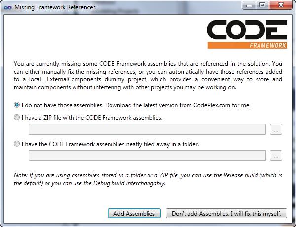 Understanding WPF Development - CODE Framework Documentation
