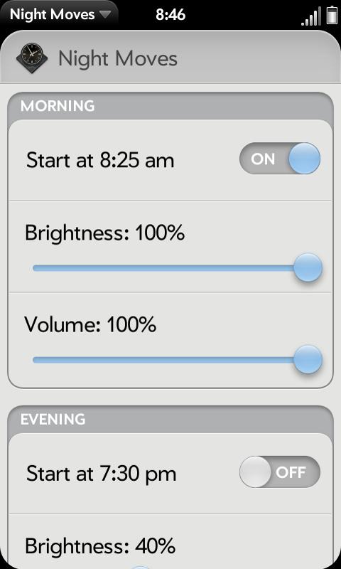 Night Moves Screenshot