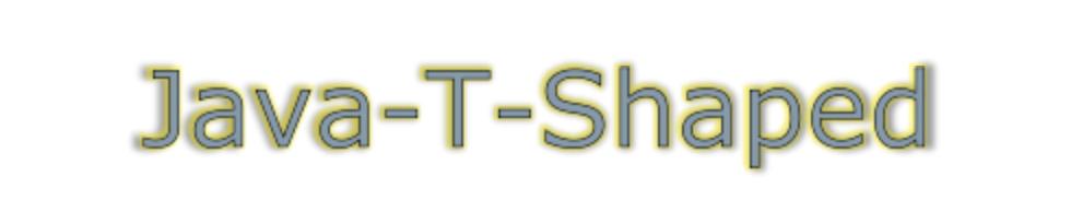 Java-T-Shaped