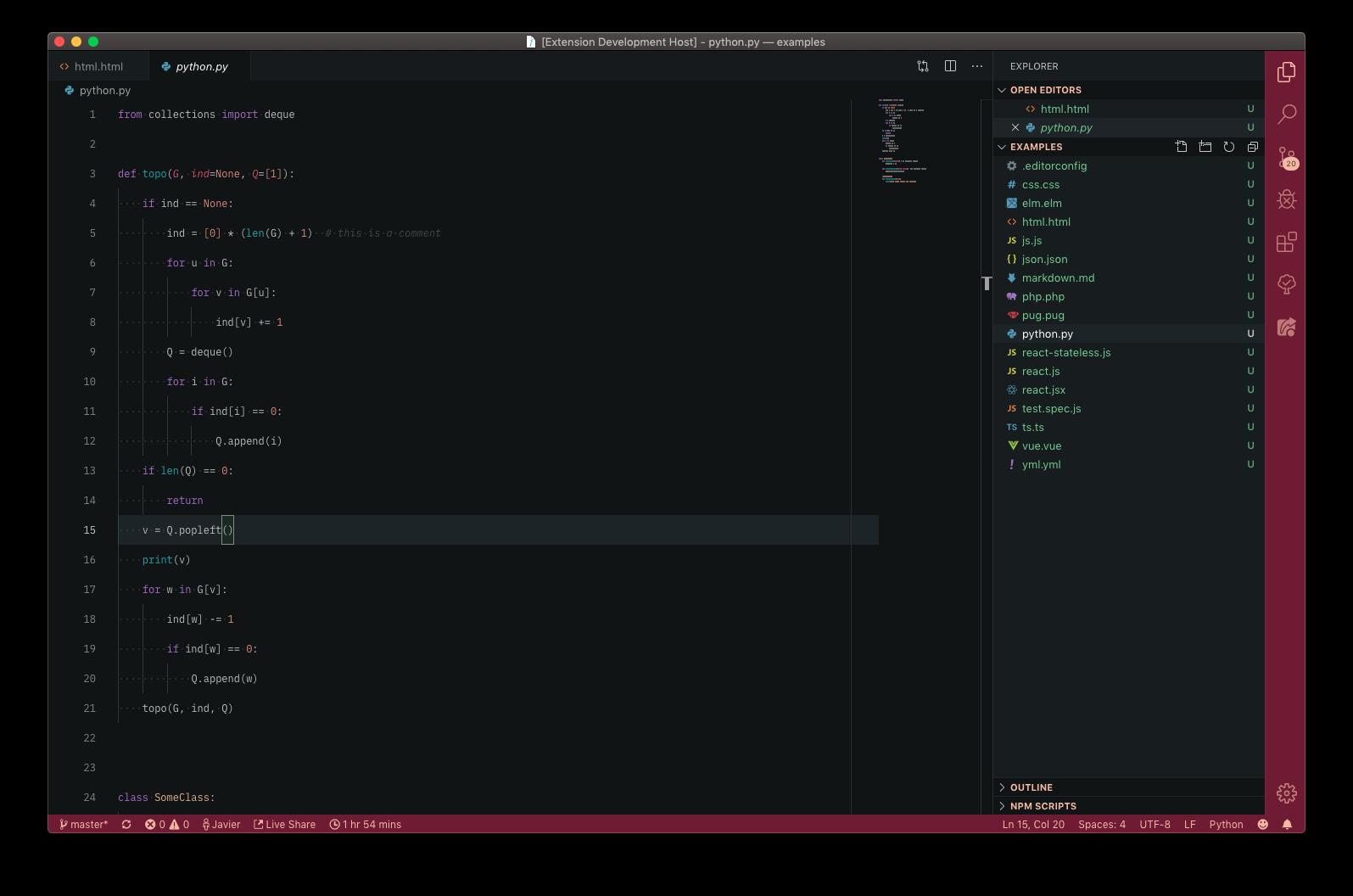 Preview Python