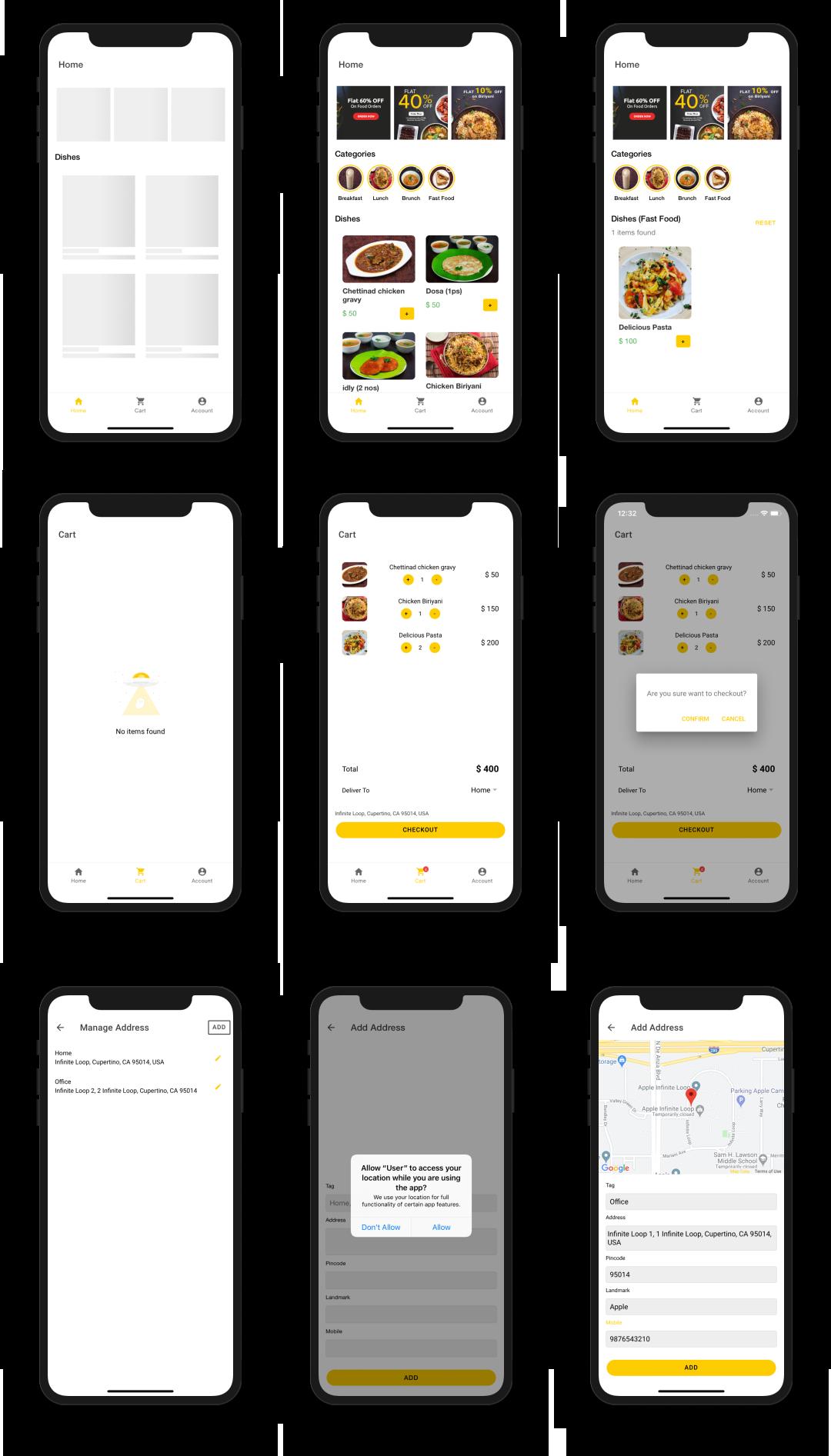 User App screenshot 2