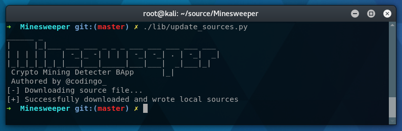 Minesweeper Update