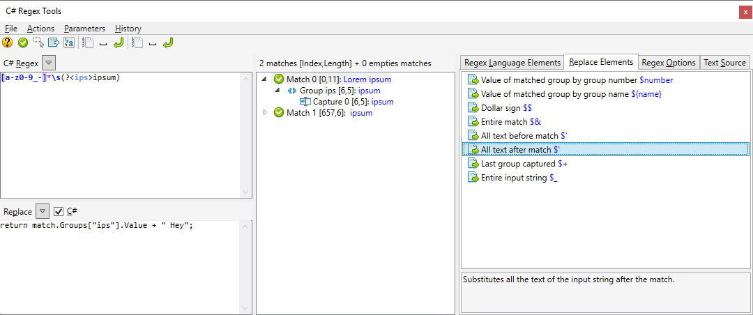 GitHub - codingseb/CSharpRegexTools4Npp: Some tools to use