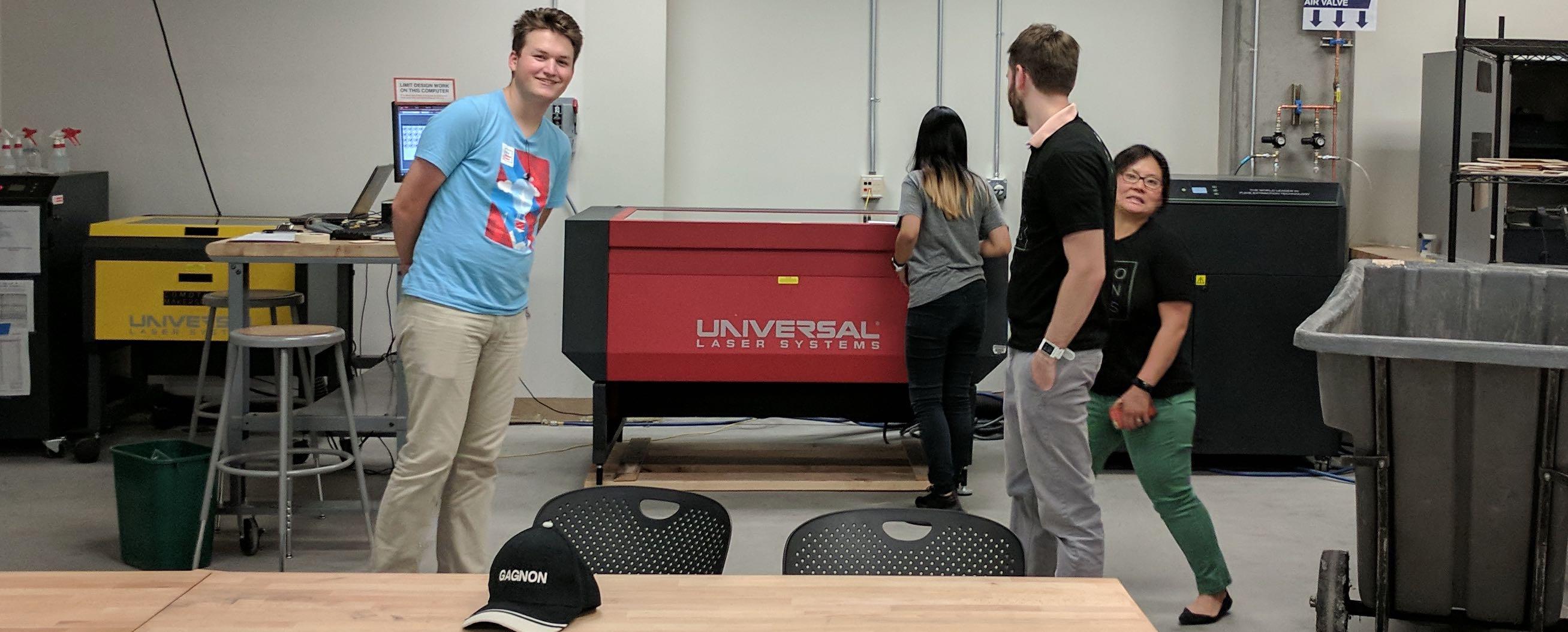 CoMotion MakerSpace big lasercutter!