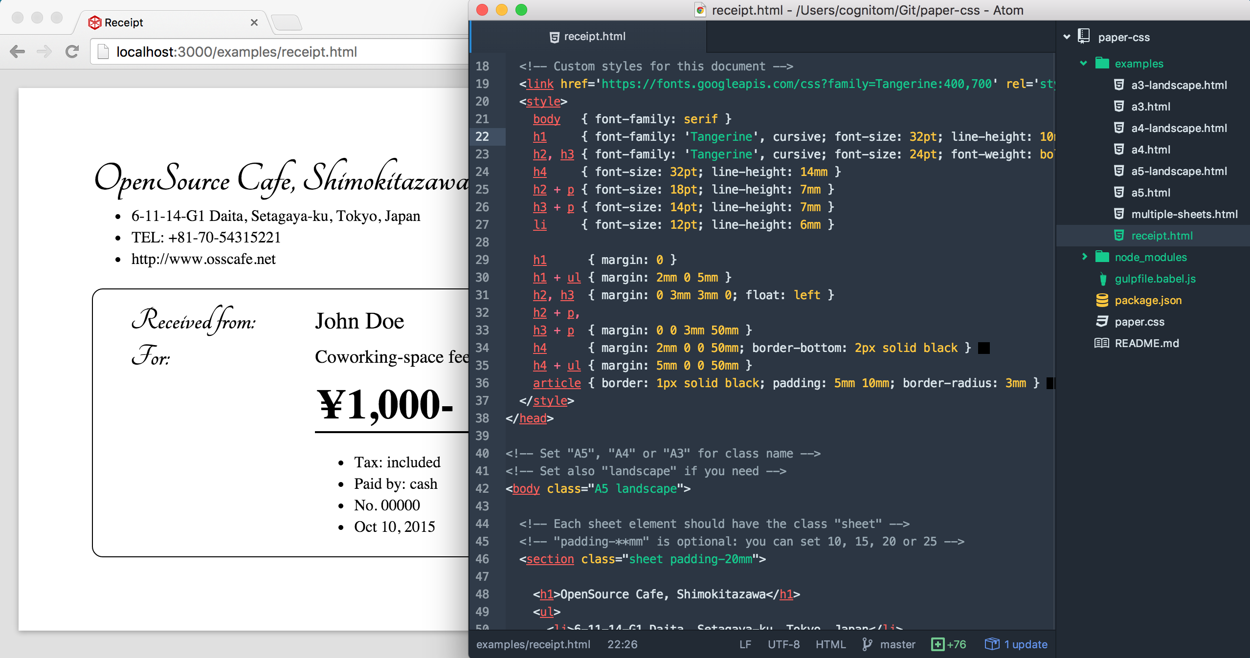 Lovely Css Print Stylesheet Template Gallery - Example Resume ...