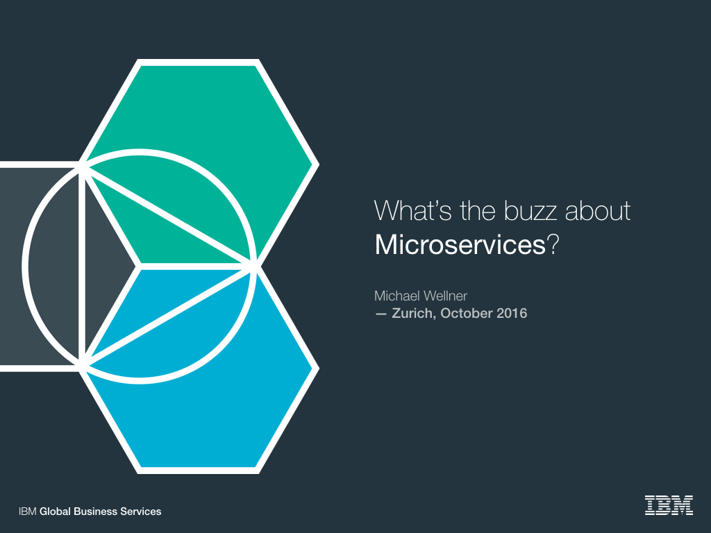 What's the buzz about Microservices