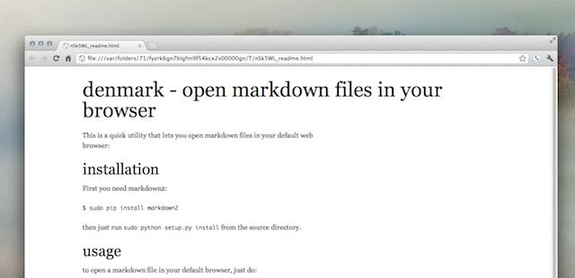 markdown!