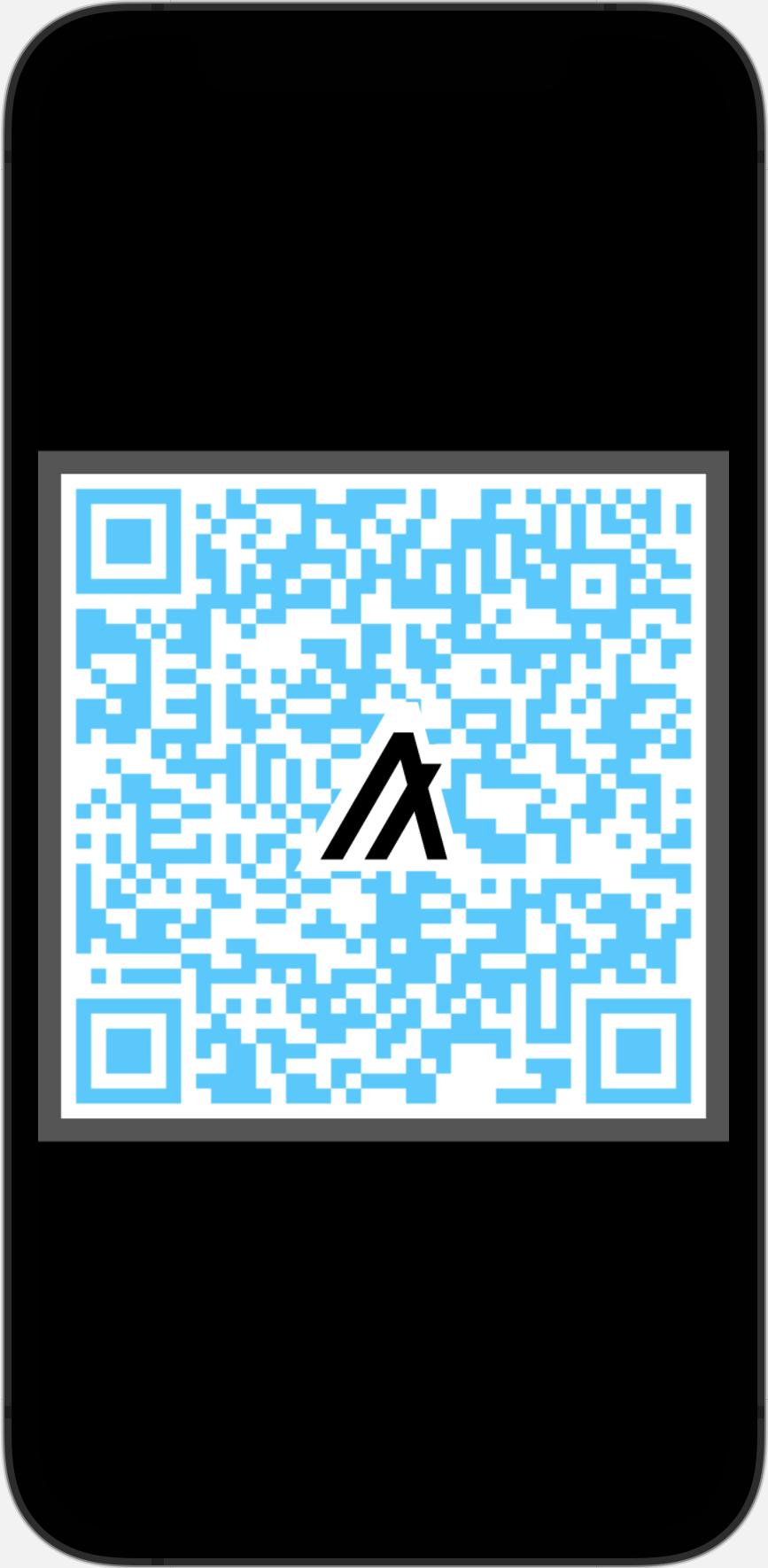 Sample Algorand QR Code 1