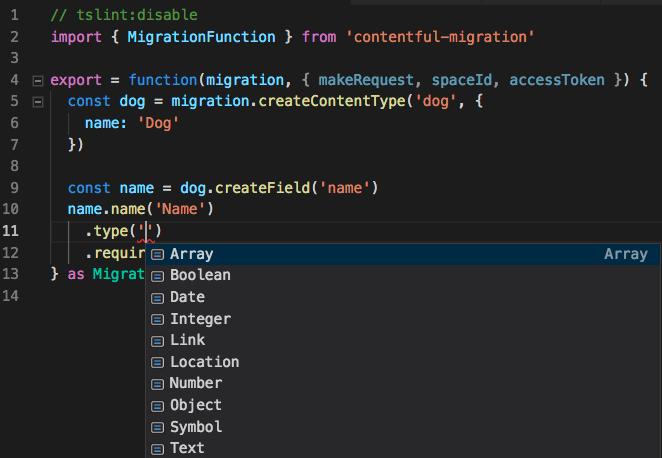 typescript migration in vscode