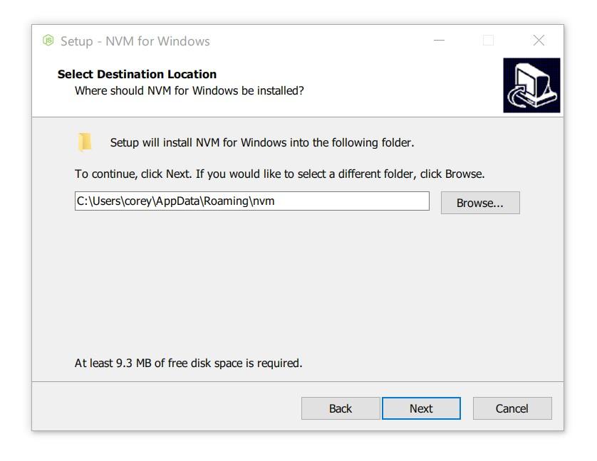 NVM for Windows Installer