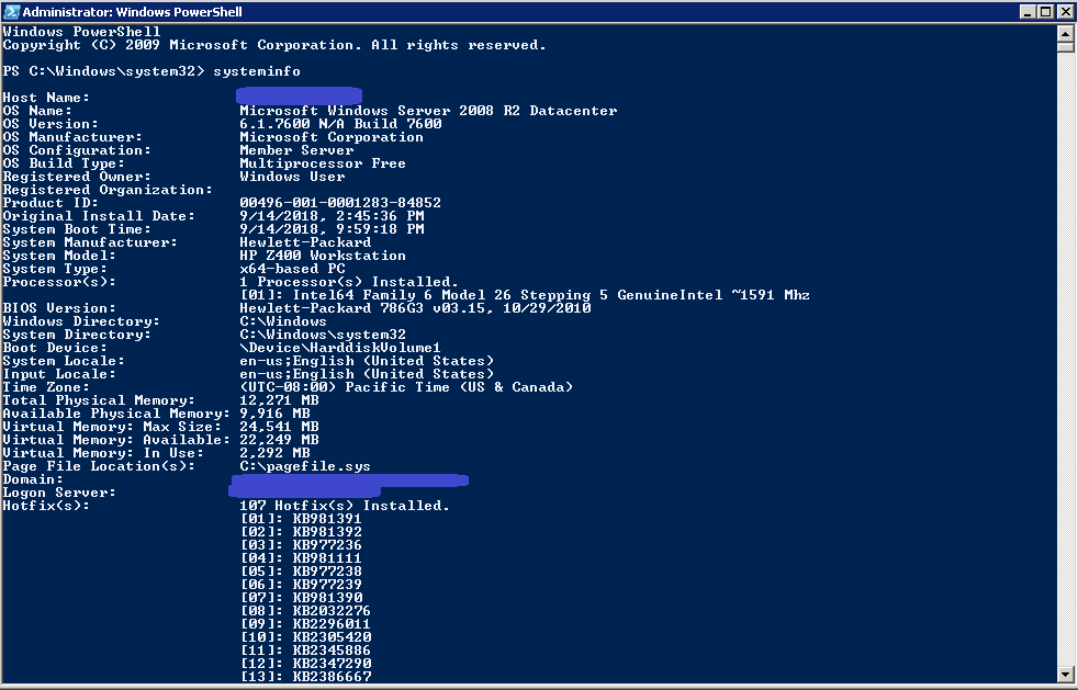 Upgrade Windows Server 2008 R2 to Windows Server 2019