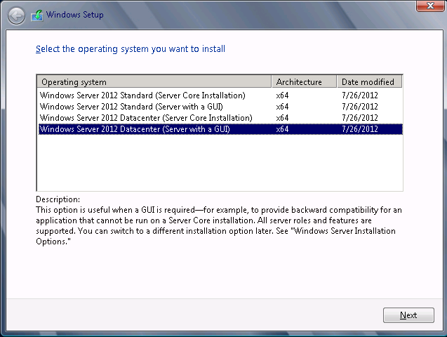 Upgrade Windows Server 2008 R2 to Windows Server 2019