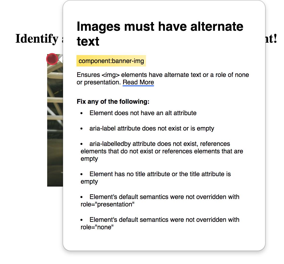 ember-accessibility screenshot