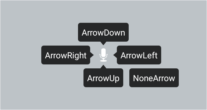 Specify the direction of arrow