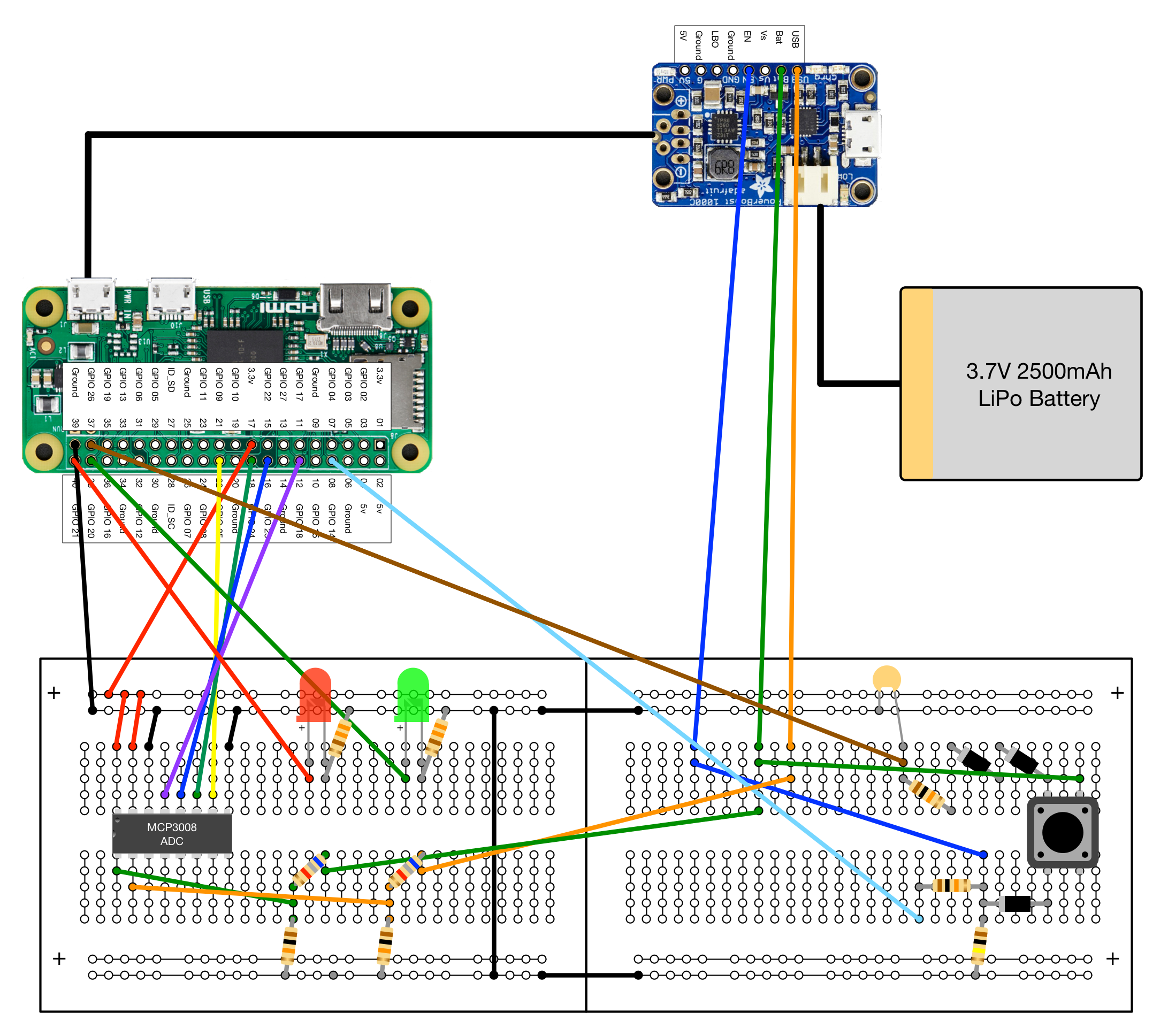 Github Craic Pi Power Management For Portable Raspberry 10 Led Wiring Diagram Here Is A Larger Version Of This Layout