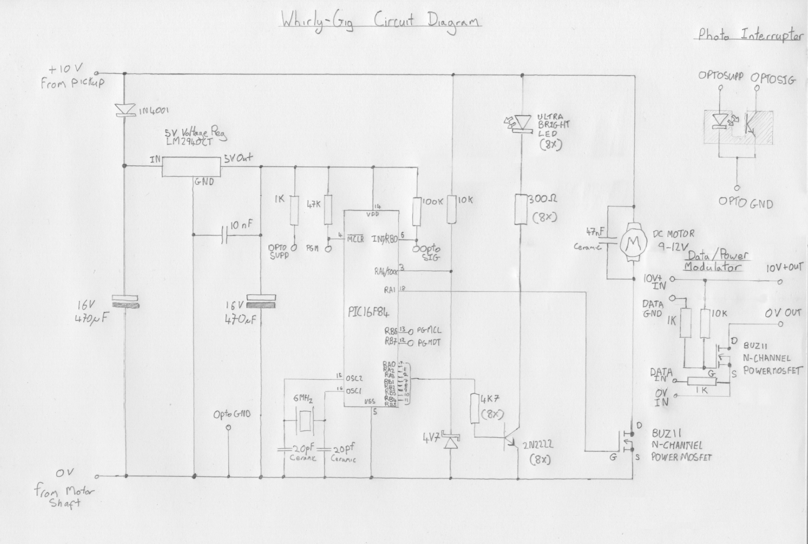 Whirlygig Simple Power Saver Circuit Schematic Diagram The
