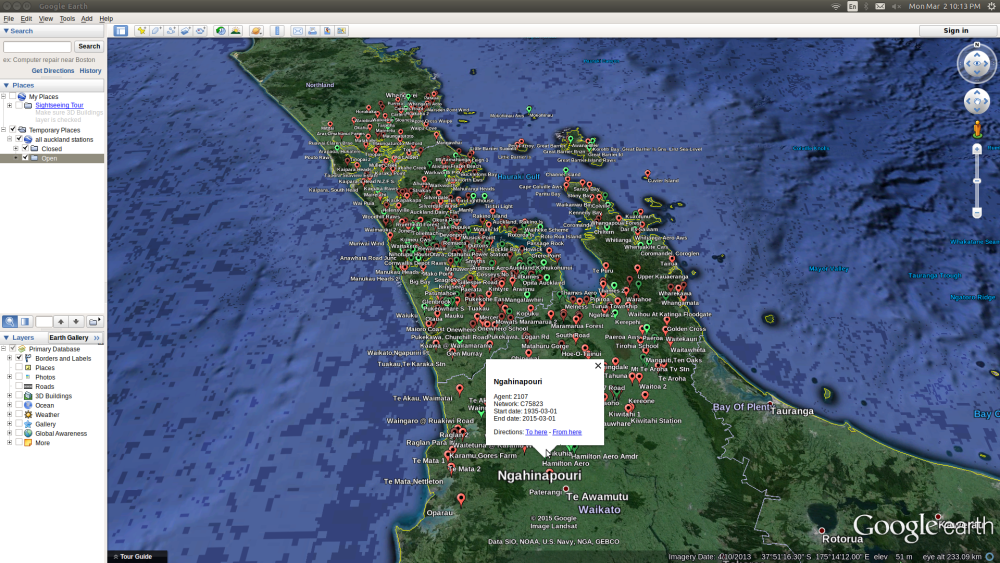 All Auckland Climate Stations
