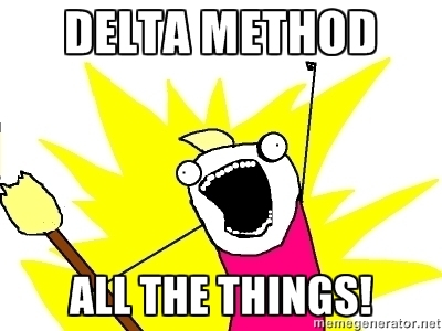 Delta Method All the Things!
