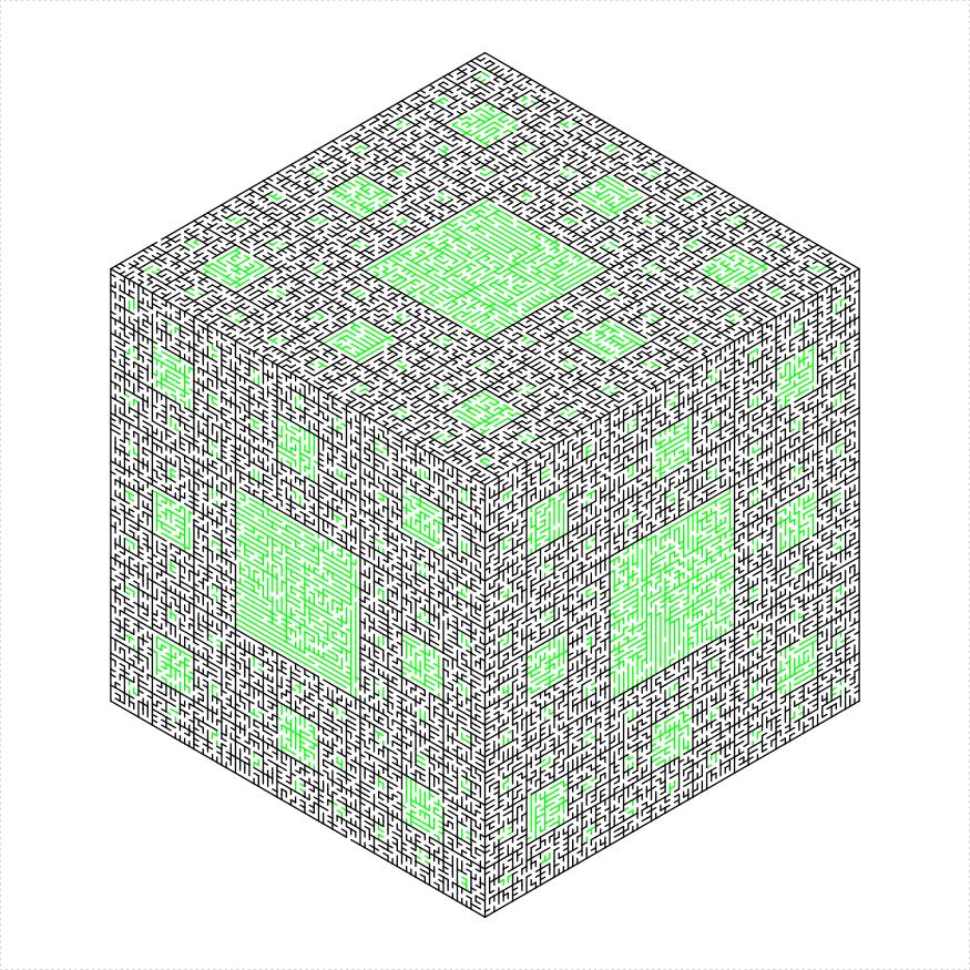 plot of chunk menger-sponge